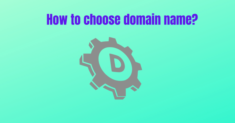 Read more about the article How to choose domain name?