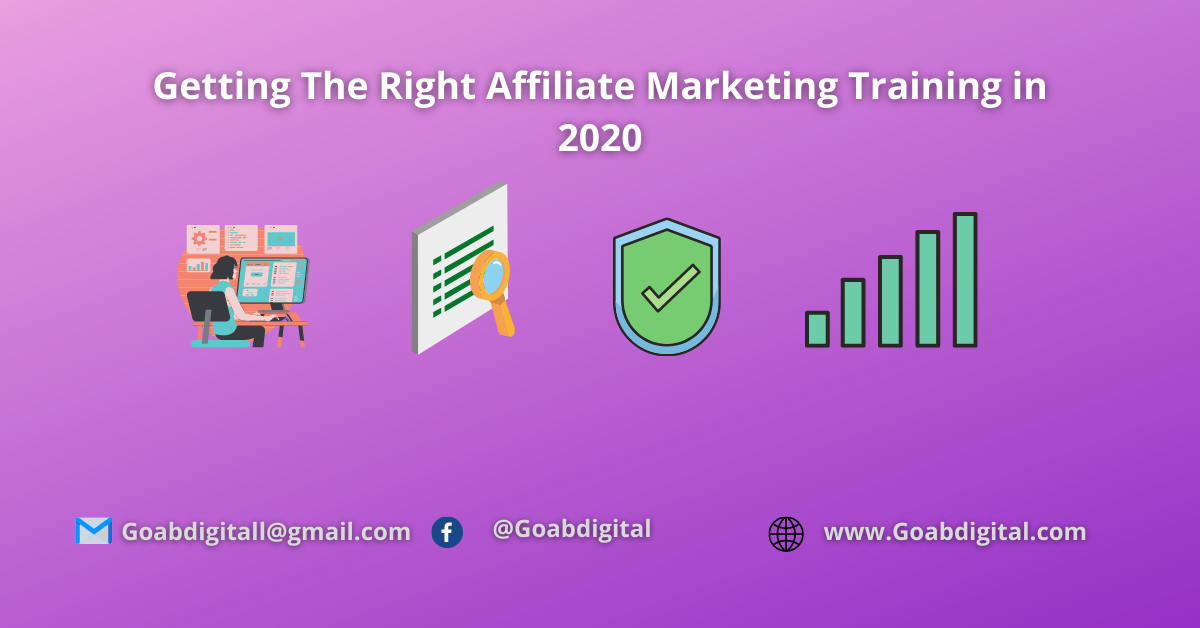 You are currently viewing Getting The Right Affiliate Marketing Training in 2020