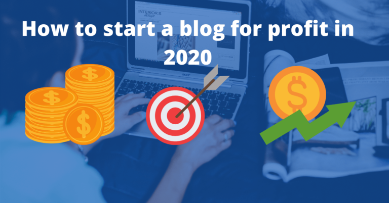 Read more about the article How to start a blog for profit in 2021: Beginner's Complate blogging Guide