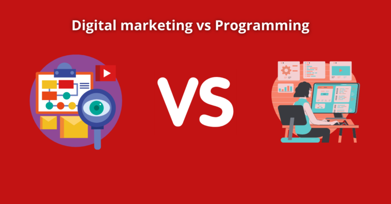 Read more about the article Digital marketing vs Programming: Which career path is Best?
