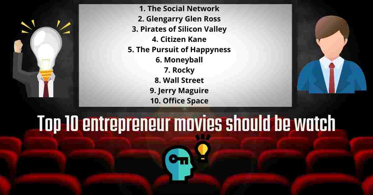 You are currently viewing Top 10 entrepreneur movies should be watch in 2021