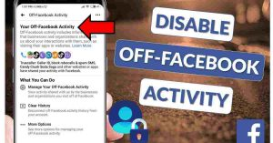 Read more about the article Facebook tracks you but you have option to stop it.